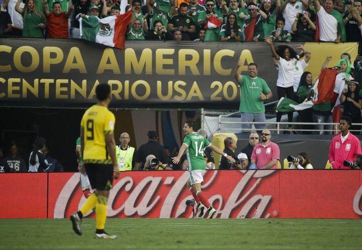El Tri venció a Jamaica (foto) y ahora enfrentará a Venezuela en la Copa América Centenario. (AP)