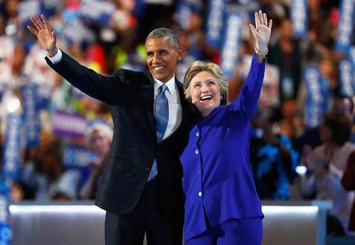 Barack y Hillary siguen siendo el hombre y la mujer más admirados en Estados Unidos. (Foto: Contexto)