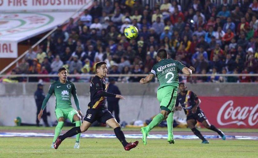América perdió 3-2 ante Coras Tepic y de esta manera pone en peligro una posible clasificación a la siguiente ronda de la Copa MX.(Foto tomada de Facebook/Coras Tepic)