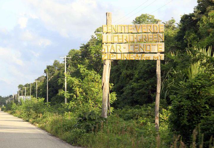 Existe en la reserva el proyecto de la exploración de cenotes. (Luis Soto/SIPSE)