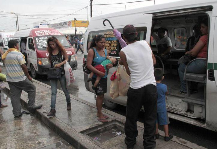 La empresa con más accidentes es Transporte Terrestre Estatal. (Tomás Álvarez/SIPSE)