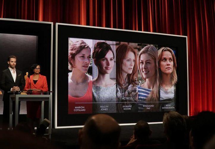 Este lunes alrededor de 150 nominados al Oscar convivirán en un almuerzo en Beverly Hills, a tres semanas de la entrega de los premios. (Notimex)
