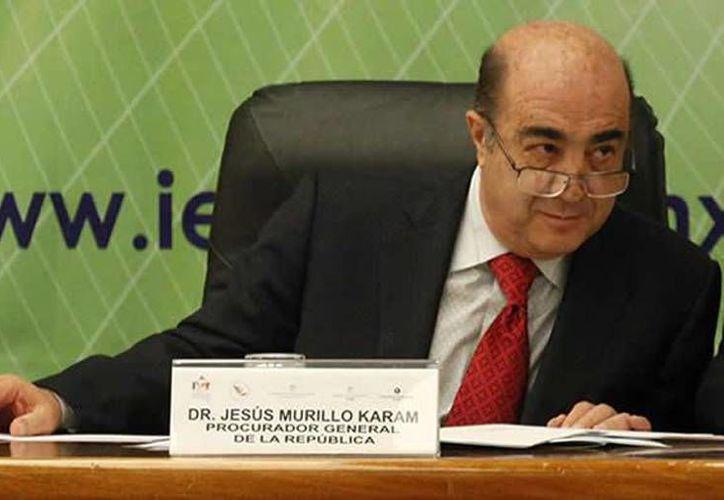 Murillo Karam se limitó al hacer declaraciones sobre la narcolista. (Archivo/Notimex)