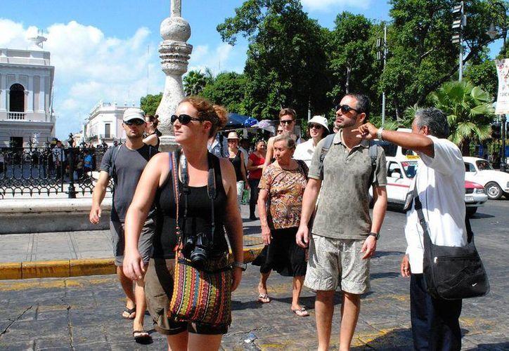 La actividad turística se ha fortalecido este año en Yucatán. (Milenio Novedades)