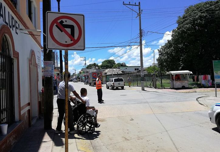 Este cambio es con la finalidad de buscar la seguridad del turista. (Javier Ortiz/SIPSE)