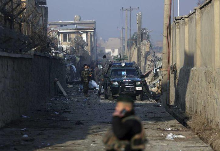 El distrito afgano de Farah ha sido recientemente escenario de constantes ataques y enfrentamientos entre las fuerzas armadas e insurgentes. (AP/Rahmat Gul)
