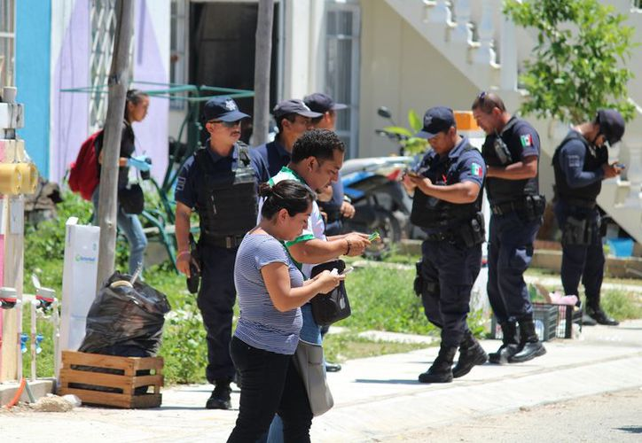 Los hechos ocurrieron en Playa del Carmen, en el fraccionamiento Palmas I. (Foto: Octavio Martínez)