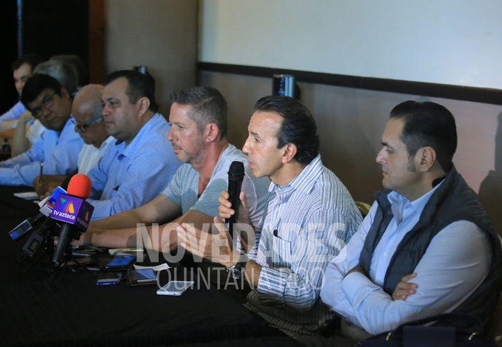 Empresarios aseguran que los avances en la mesa de Seguridad y Justicia han sido obstaculizados por López Mena. (Foto: Luis Soto)