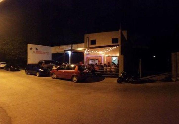El restaurante se ubica en la Av. Fonatur. (La casa del Gringo/Facebook)