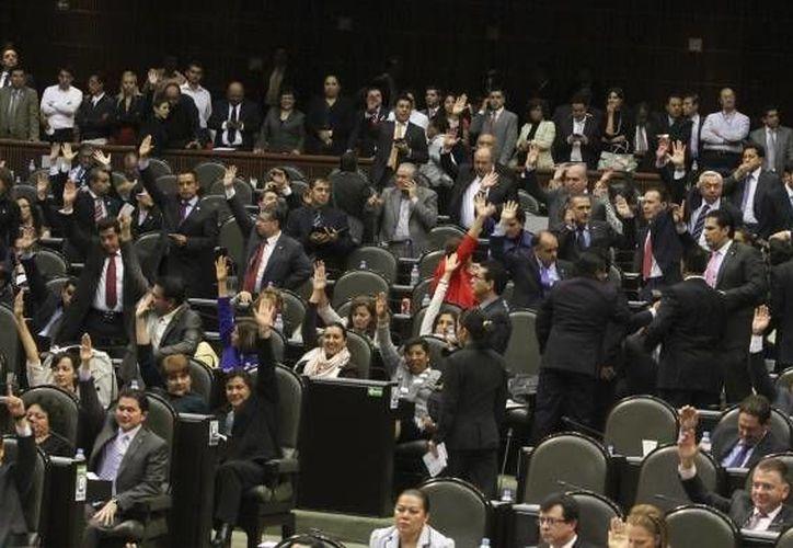 La Cámara de Diputados durante la discusión de la Reforma Educativa en diciembre. (Notimex/Foto de archivo)