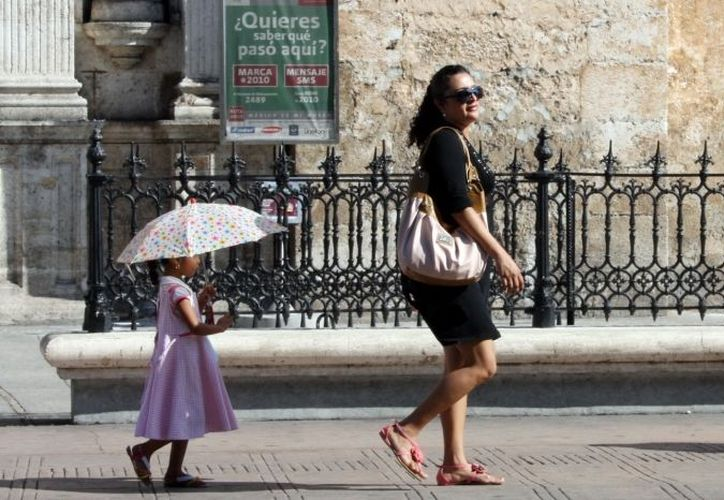 Persistirá el clima caluroso por las tardes. (Theany Ruiz/SIPSE)
