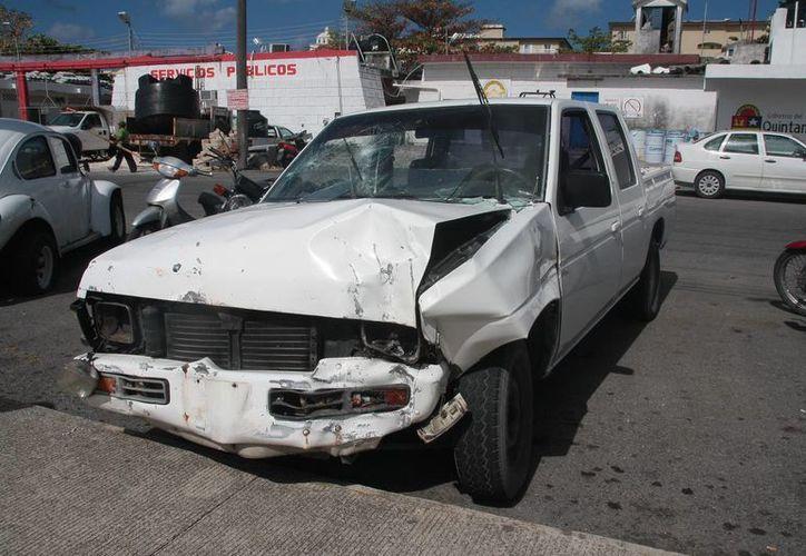 Los daños materiales en el mes de enero fueron de 136 mil pesos. (Julián Miranda/SIPSE)