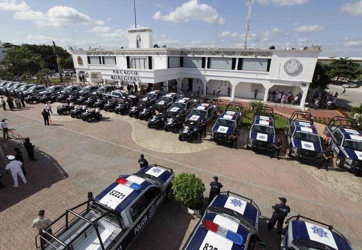 La Secretaría Estatal de Seguridad Pública se fortalecerá su equipamiento, capacitación, certificación y armamento. (Cortesía/SIPSE)