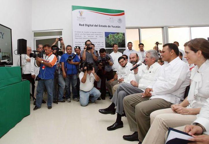 Con la red de conexión de banda ancha el Parque Científico y Tecnológico de Yucatán podrá cumplir mejor sus funciones. (Cortesía)