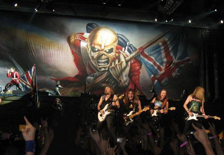 En la imagen, un concierto de la banda Iron Maiden en España. (Archivo/Agencias)