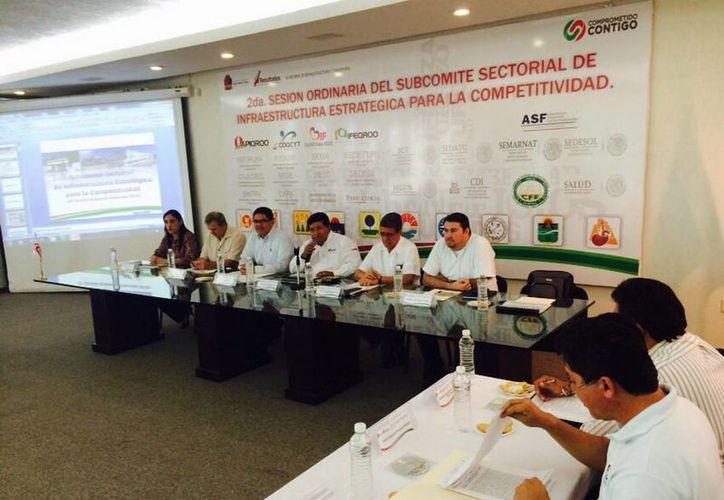 El propósito de la reunión fue mejorar la coordinación y definición de acciones. (Redacción/SIPSE)