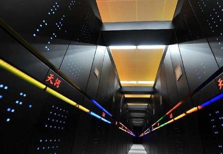 Es la segunda ocasión que China construye una máquina de tal magnitud. (Agencias)