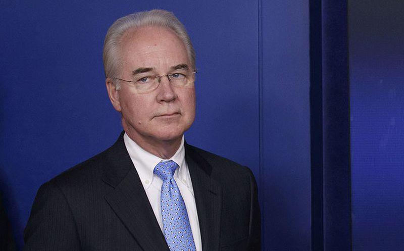 Renunció el secretario de Salud estadounidense por el uso de aviones privados