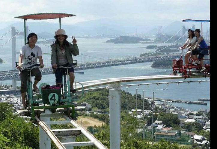 La montaña rusa SkyCycle, ofrece un excepcional viaje. (Foto: Contexto/Internet)