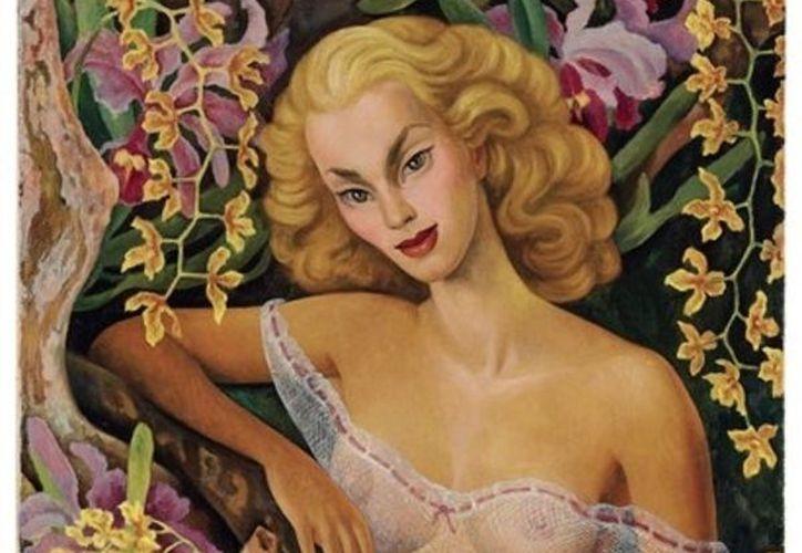 El cuadro nunca fue expuesto, ya que es considerado demasiado erótico. (Agencias)