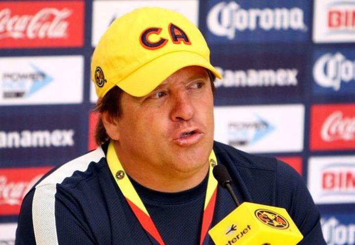 Miguel Herrera, director técnico de las Águilas del América. (Archivo/Notimex)
