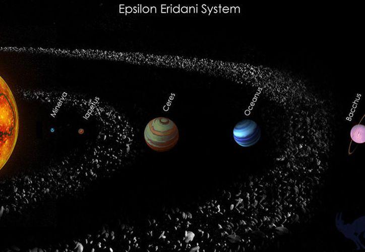 Este sistema se asemeja al nuestro en muchos sentidos, desde planetas hasta el mismo Sol. (Elist10)