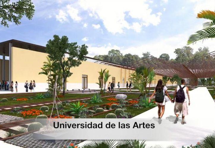 Imagen del proyecto de la Universidad de las Artes. (Archivo)