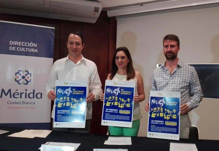 El conjunto musical valenciano hará su debut en Mérida con el recital 'Un concierto diferente', el cual se presentará el próximo 26 de febrero. (Milenio Novedades)