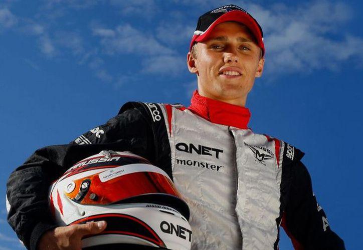Max Chilton será uno de los tres novatos que correrá en la F1 en 2013. (Foto: Marussia)