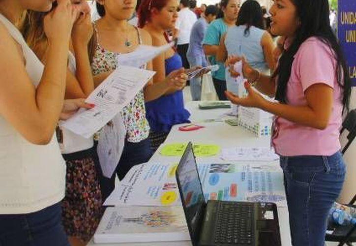 Cada año mas de mil estudiantes de las 45 licenciaturas que se imparten en la Uady solicitan formar parte de algún proyecto en el cual realicen el servicio social. (Milenio Novedades)