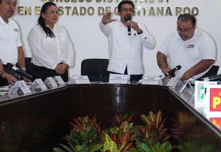 Ayer quedó integrado formalmente el Consejo Distrital 01. (Adrián Barreto/SIPSE)