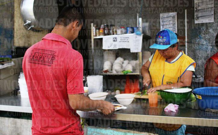Estos comedores comunitarios fueron gestionados y desaparecidos por la pasada administración municipal. (Foto: Octavio Martínez/SIPSE)