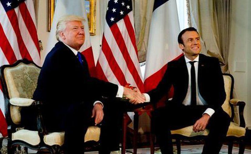 Los presidentes francés y estadounidense celebrarán una reunión bilateral. (Milenio)