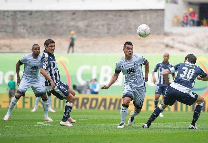 Con el empate de esta tarde ante América, Rayados de Monterrey aseguró el liderato general de la tabla en la Liga MX. (Twitter: @ClubAmerica)