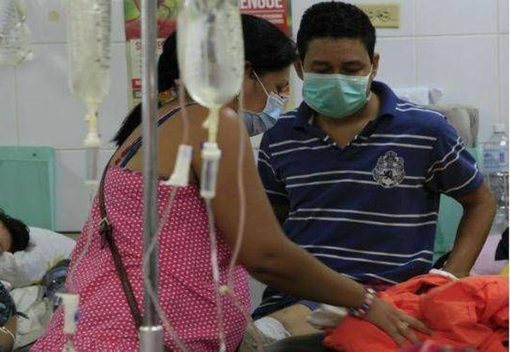 Durante 2013 se registraron 160 casos de influenza, de los cuales siete desencadenaron en el fallecimiento del paciente. (Harold Alcocer/SIPSE)