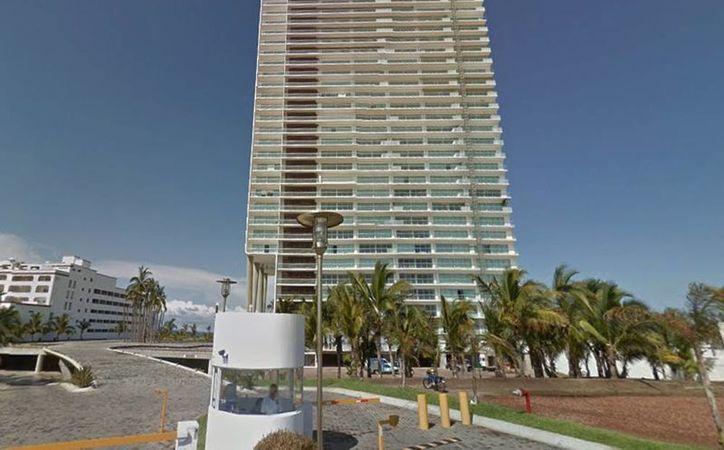Imagen de los condominios Península donde fue capturado Mauricio Gastélum Serrano, acusado de ser el operador financiero del cártel de Sinaloa. (Google Maps)