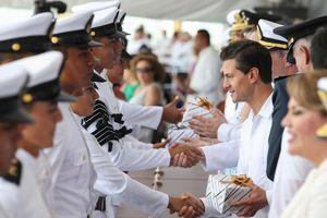 Graduación H. Escuela Naval y abanderamiento de buques patrulla