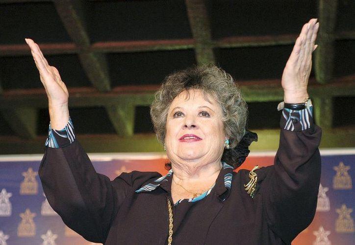 La primera actriz Evita Muñoz será recordada por su personaje de 'Chachita' en 'Nosotros los pobres', 'Ustedes los ricos' y 'Pepe el Toro'. (Archivo/Notimex)
