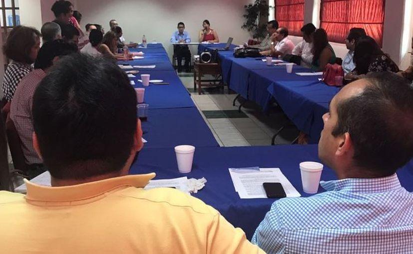 Se realizó la toma de protesta a los integrantes del Comité Directivo Estatal del MDI. (Daniel Tejada/SIPSE)