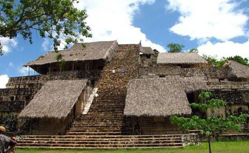 La excursión a la zona arqueológica maya es parte del programa Turismo Social, el cual apoya a los trabajadores a nivel nacional. (Contexto/Internet)