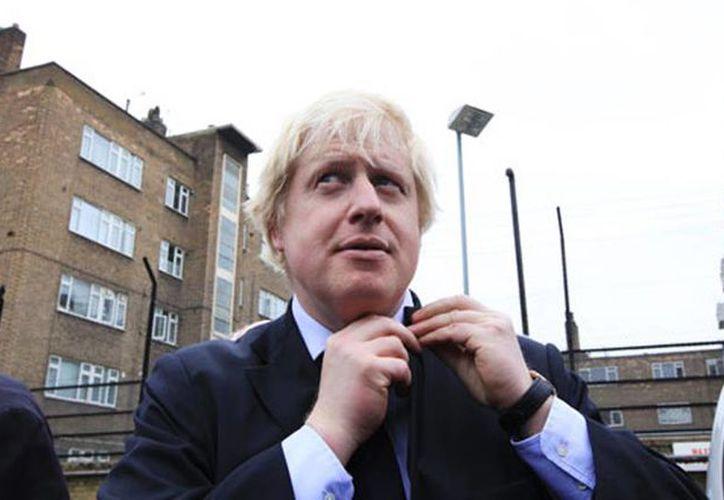 El alcalde de Londres, Boris Johnson, considera que sus políticas y las del gobierno de Margaret Thatcher son prácticamente las mismas. (Milenio Novedades)
