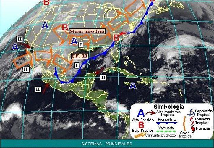 Soplarán vientos del norte y noreste de 20 a 40 km/h. (app.cfe.gob.mx)