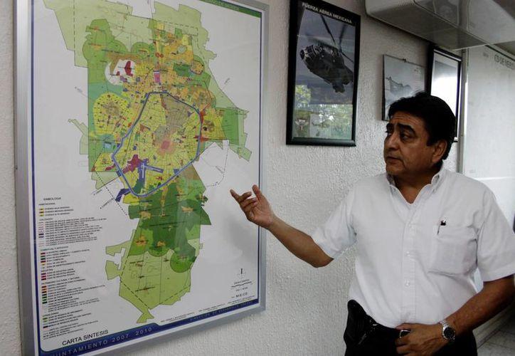 Arturo Escorza Sánchez, superintendente de la CFE. (Christian Ayala/SIPSE)