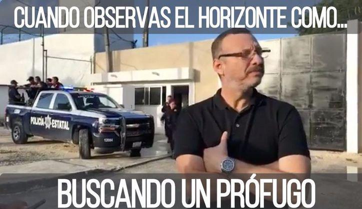 Un reo se escapó de la cárcel de Cancún