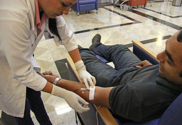 En conjunto con la Universidad Anáhuac y voluntarios de la Cruz Roja, arrancará una campaña de donación de sangre. (Luis Soto/ SIPSE)