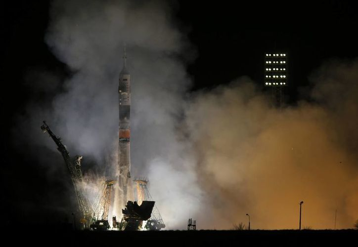 La NASA ha dependido de los cohetes rusos para enviar tripulantes a la Espación Espacial Internacional. (Agencias)