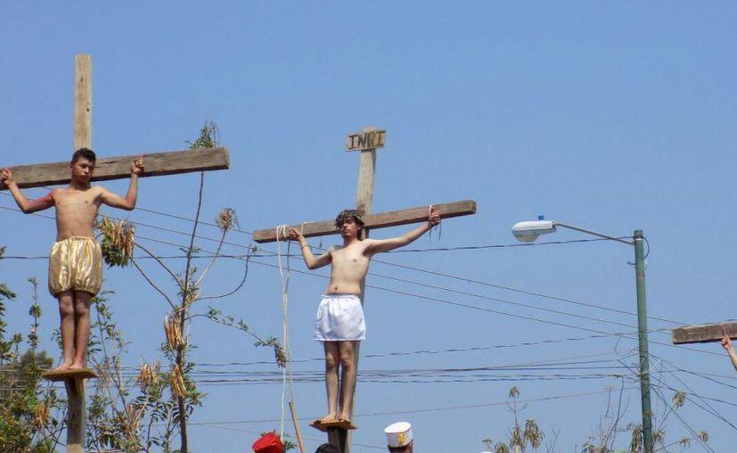 El actor se asfixió con la soga con la que interpretaría el ahorcamiento de Judas. (Foto: Quadratín)