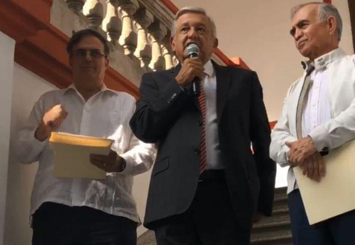 Andrés Manuel López Obrador, virtual Presidente electo de México, dio a conocer la carta. (vanguardia.com)