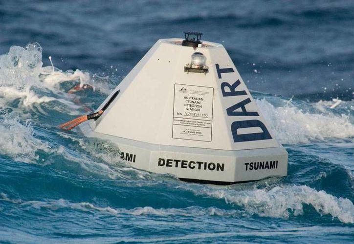 El National Oceanic and Atmosferic Administration (NOAA) de Estados Unidos entregó este miércoles a autoridades chilenas dos prototipos de boyas DART de última generación que advertirán el eventual arribo de un tsunami a ese país. (Imagen de contexto nctr.pmel.noaa.gov)