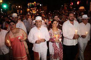 Festejan a Mérida con la tradicional serenata
